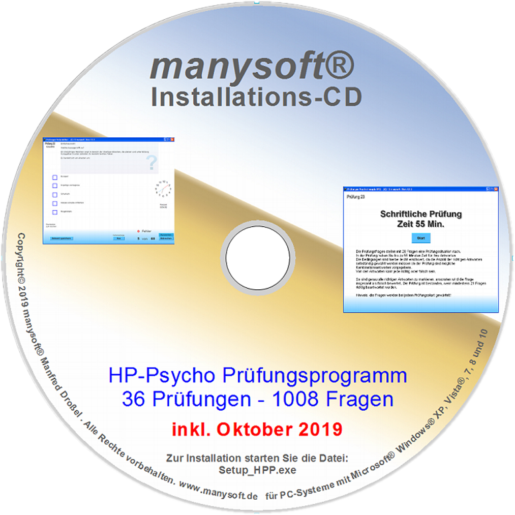 manysoft® Software für die Naturheilpraxis