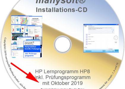 Heilpraktiker Lernprogramm 12 Lektionen mit Prüfungsprogramm 10/2019